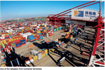 day breaks in china's logistics industry